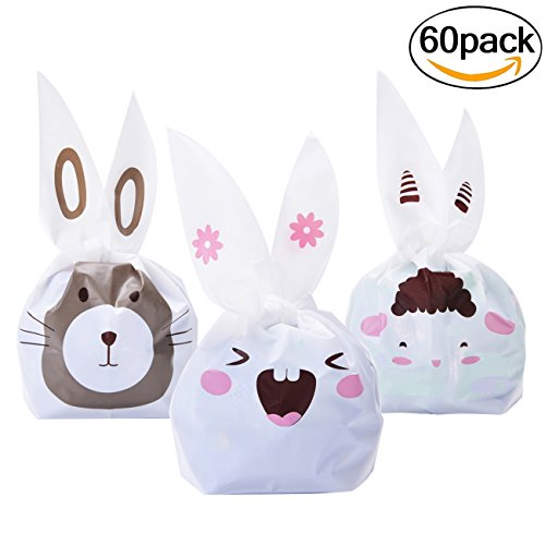 candy-bags-fascigirl-60pcs-lovely-bunny-ears-gift-wrap-bags-treat-bags-for-childrens-birthday-party-