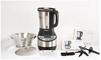 Cecomix C04000 Robot Cocina y tritura, 1500 W, 3.3 litros, PU|Acero Inoxidable, Plata: Amazon.es: Hogar