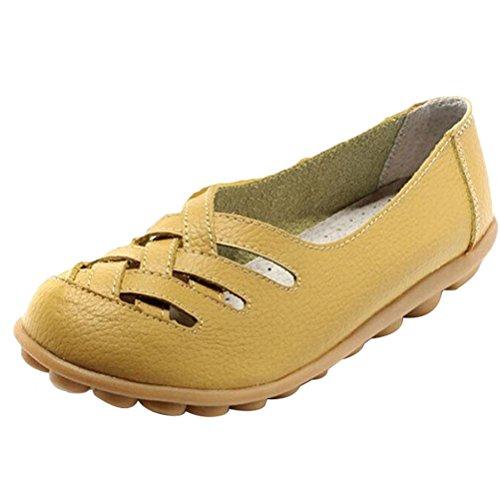 Vogstyle Cuir Beige En Sandales Talons Chaussures De Bas Sport Pour Femme Zy005 17r1ZxqwH