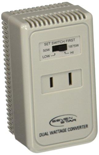 Price comparison product image SEVENSTAR SS 225 1875Watts Travel Voltage Converter