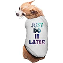 Just Do It Later Colorful Art Cute Dog Costume