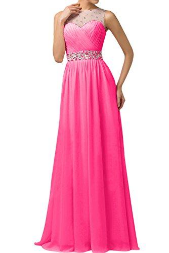 rosa Vestido mujer para mes trapecio Topkleider 2 wgH0ac