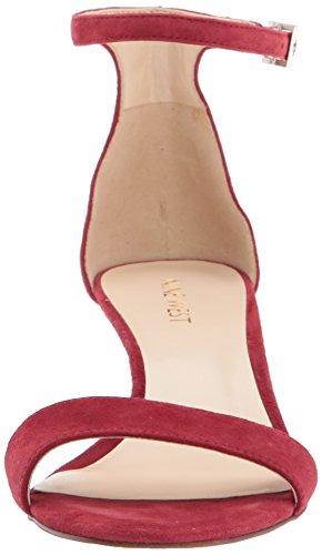 Rouge Sandales De Neuf De Talons À Suède Leisa Su Ouest Rouge Femmes 007vxnB