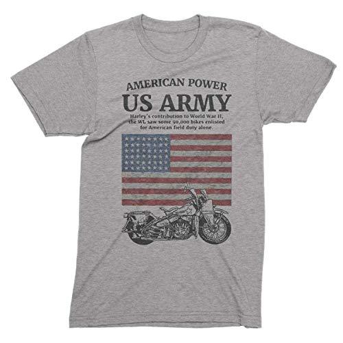 Harley Davidson Us Army Motorcycle Vintage Design American (Harley Davidson Designs)