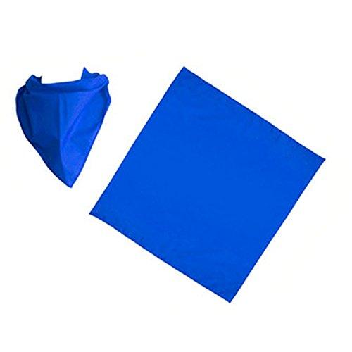 T17969 Pack 6 UDS Lets Go Fiesta Pa/ñuelo Azul Marino para pe/ñas Liso