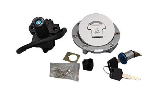 Alpha Rider Ignition Switch Lock Fuel Gas Cap Cover Keys Set For Honda CBR900RR (1992-2000) / CBR919RR (1996-1999)