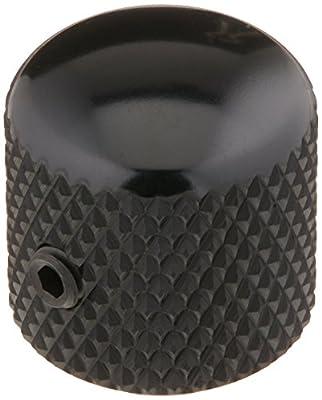 Ernie Ball Telecaster Knobs Black Aluminum, Set of 2 from Ernie Ball