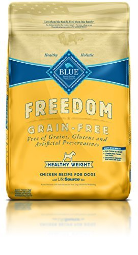 Blue Buffalo Freedom Adult Healthy Weight Chicken Recipe Grain Free 24 lb by BLUE Freedom