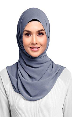 Hanas Womens Georgette Chiffon Hijab