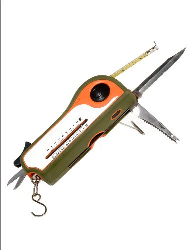 Delk 41293 Ultimate Fishing Tool, Green and Orange, Outdoor Stuffs