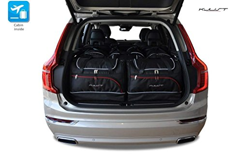 CAR BAGS AUTO-TASCHEN MASSTASCHEN ROLLENTASCHEN VOLVO XC90, II, 2015- - KJUST