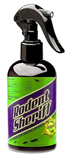 RODENT SHERIFF Pest Control Spray - Made in The USA - Ultra-Pure Mint Spray to Repel Rodents (1) (Little House On The Prairie The Raccoon)