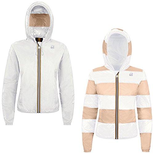S Giubbotto White Donna way stripe K0085c0 W P K w6XUOxqEw