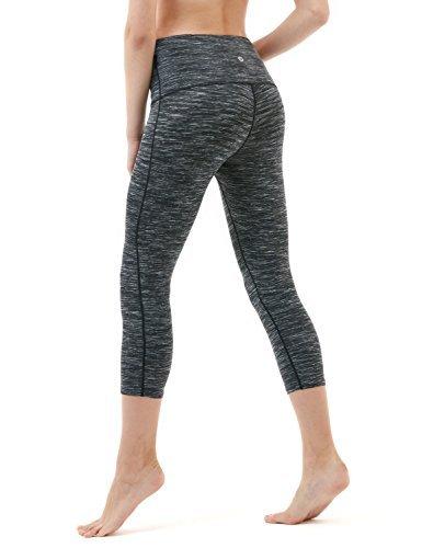 TM-FYC32-SDC_Medium Tesla Yoga Pants High-Waist Tummy Control w Hidden Pocket FYC32 ()