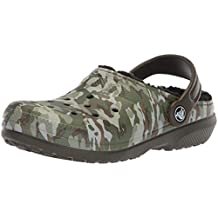 Crocs Kids' Classic Lined Graphic Clogs