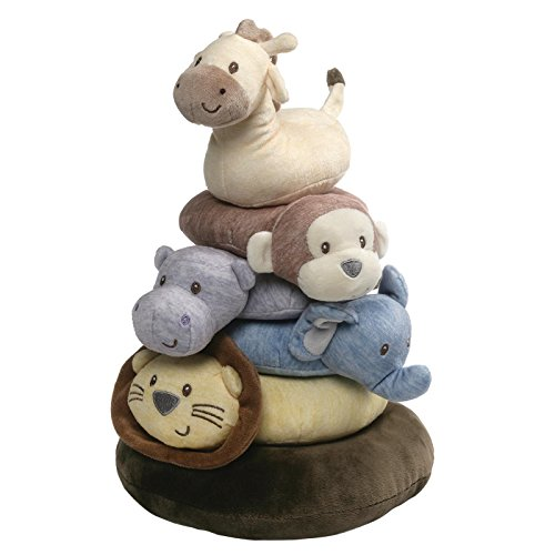 - Baby GUND Playful Pals Stacker Ring Set Stuffed Animal Plush Toy, 12.5