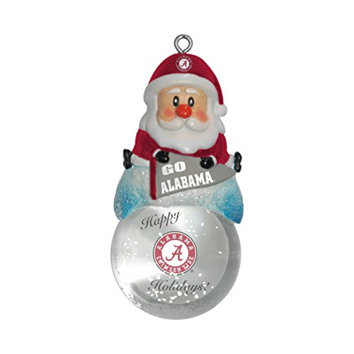 NCAA Alabama Crimson Tide Snow Globe Ornament ()