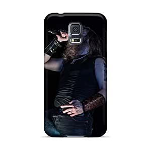 Perfect Hard Cell-phone Cases For Samsung Galaxy S5 With Provide Private Custom Colorful Amon Amarth Band Pictures RitaSokul