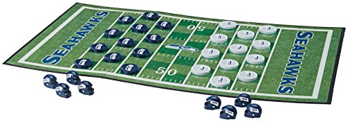 MasterPieces NFL Seattle Seahawks Checkers Game