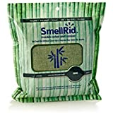 SMELLRID Reusable Bamboo Activated Charcoal Odor Remover Pouch – XX Large (8.5 X 8.5): Treats Up to 300 sq. ft. to Eliminate Nasty Smells, Pollutants & Moisture