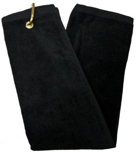Tri-Fold Towel - Black -