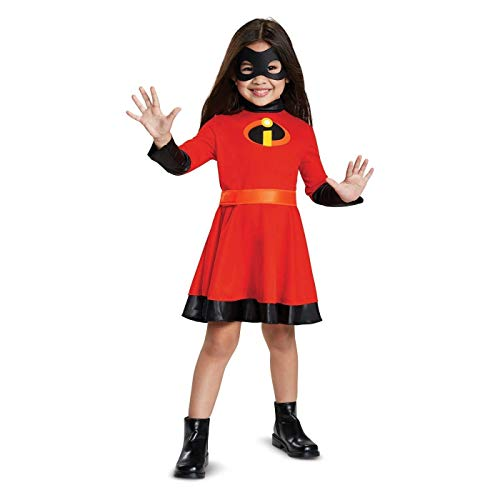 Toddler Girls The Incredibles Violet Parr Classic Halloween Costume Sound ()