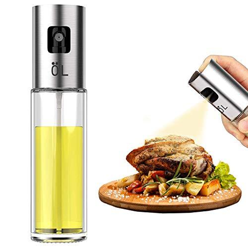 Besmon Olive Oil Sprayer Food-grade Glass Bottle dispenser for Cooking