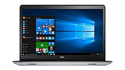Dell Inspiron 15 5000 series i5548 15.6 Inch HD Laptop (Intel Core i5 5200U, 8 GB RAM, 1 TB HDD, Silver) with MaxxAudio ,Backlit Keyboard