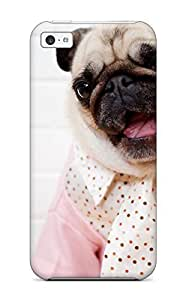 2286277K40524985 Awesome Design Pug Dog Hard Case Cover For Iphone 5s for you