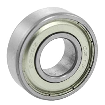 uxcell® Electric Motor 15 x 35 x 11mm Double Shielded Deep Groove Ball Bearing 6202Z