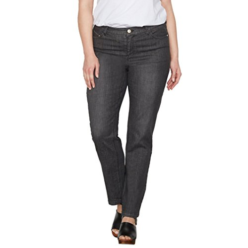 Nero Stone Castaluna Straight Donna Regular Jeans pX7IS