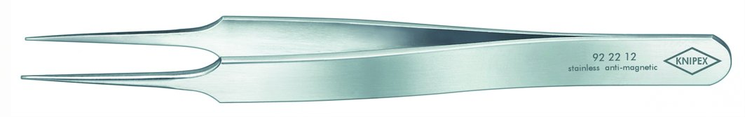 Knipex 92 22 12 Precision Tweezers in straight pattern 4,13''