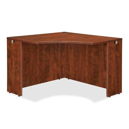 Corner Lorell - Lorell LLR69919 69000 Series Corner Desk, Cherry