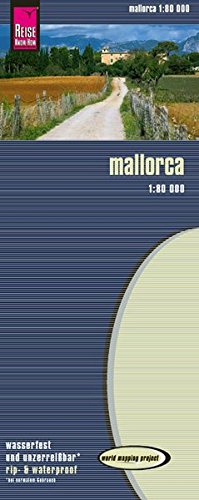 Reise Know-How Landkarte Mallorca (1:80.000): world mapping project