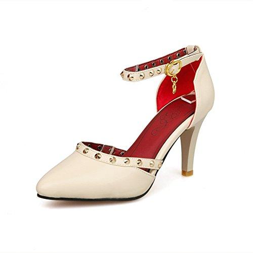 Light Closed ASL04402 Sandals BalaMasa Polypropylene Apricot Sandals Huarache Toe Womens Weight EwXzfqXFx