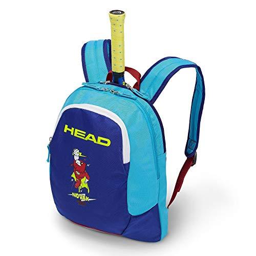 - HEAD Kids Novak Djokovic Racquet Backpack (Blue)