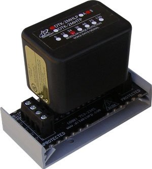 Module (24v, 2 pair, hybrid field repl suppression module with hardwire) by Ditek