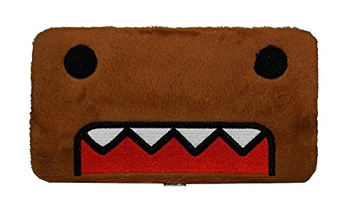 - Domo Kun: Domo Face Fuzzy Hinge Wallet