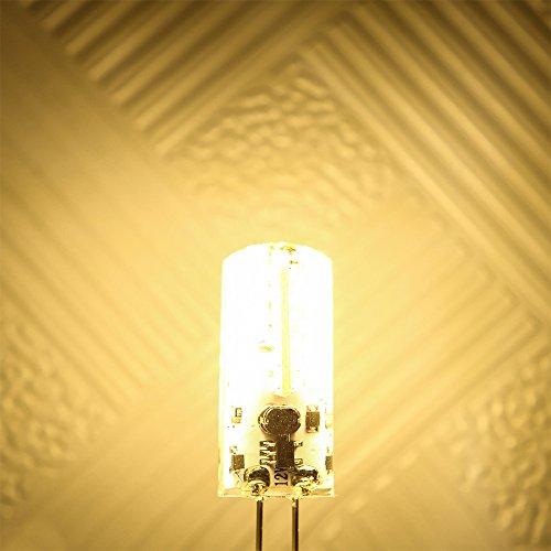 Weanas 4x G4 Base 48 Led Light Bulb Lamp 3 Watt Ac Dc
