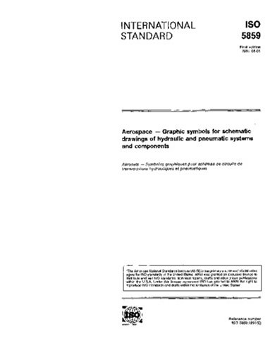 ISO 5859:1991, Aerospace - Graphic symbols for schematic drawings of hydraulic and pneumatic systems and components