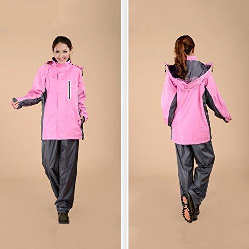 Xxl couleur Pluie J La H Imperméable Taille À Pantalon Raincoat wXAZ8F