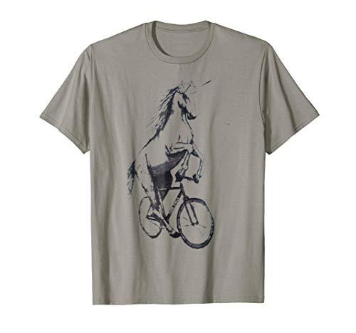 Unicorn on a Bicycle t-shirt ()