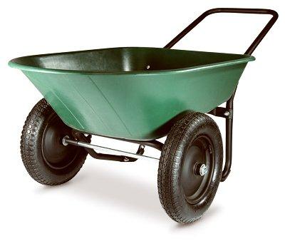 Green Thumb 70008 2 Wheel Poly Wheelbarrow by MARASTAR