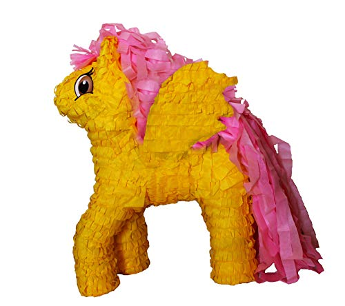 Little Pony Yellow Pinata]()