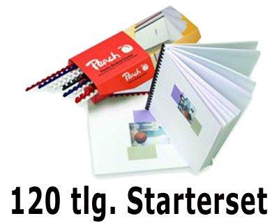 PEACH Einband-Starterset für Plastikbindung, 120 tlg. PE-PB100-14_120TLG#1