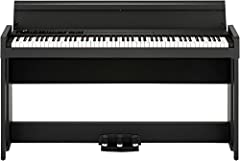88-key Digital Home Piano with 30 Sounds, RH3 Keyboard, Split/Layer Functionality, Bluetooth Audio Receiver, and Built-in Speakers - Black