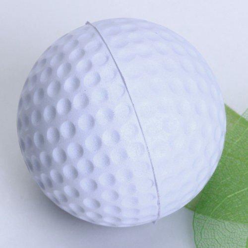 Golf ball - TOOGOO(R) Golf ball for Golf training Soft PU Foam Practice Ball - white