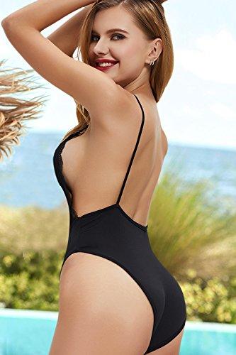 Femme 1 Pcs Nero Babydoll Bikini Sexy Aibrou Nuisette Lingerie 6qzvwp