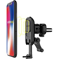 LEEIOO L00 Magnetic Car Mount Universal Phone Holder for Car Air Vent with Holding Bracket, Supporting Arm for IPhone X/8/ 7 Plus  Light IPad and More Devices