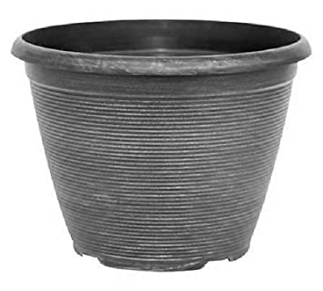 2575l silver large plant pot round tall plastic planter outdoor 2575l silver large plant pot round tall plastic planter outdoor garden pots workwithnaturefo